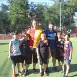 Futbol maçındaki Öğrencilerimiz